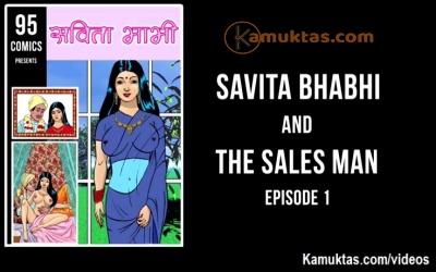 Savita Bhabhi The Sales Man Porn Video E1P2